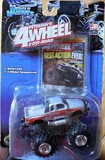 MUSCLE MACHINES Petersens 4 Wheel Monster Truck Mosc NEW LASER STAMPEDERS no2