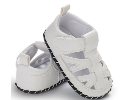 New Arrival Infant Baby Boy Pram Shoes First Shoes Anti-Slip Pre Walking Sandals