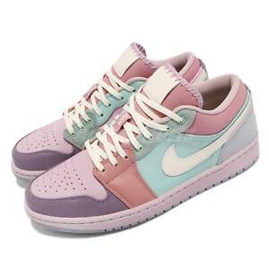 Details about Nike Air Jordan 1 Low SE Easter Pastel Champagne Coconut Milk Men DJ5196-615