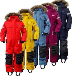 529f0b4e2b06 Image is loading Didriksons-Migisi -Kids-Coverall-Waterproof-Insulated-Snowsuit-All-