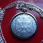 RARE 1923 German 500 Mark Weimar Eagle Coin Pendant on a 30