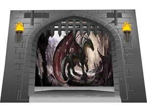 Huge-3D-Medieval-Castle-Gate-Dungeon-amp-Dragons-View-Wall-Sticker-Mural-G-sm-21