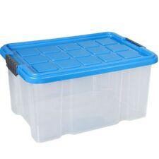 Aufbewahrungsbox stapelbar 15 Liter Plastikbox Kunststoffbox Aufbewahrung