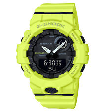 1f0c1d20cfbe Black. Casio Gba800-9a G-shock Analog Digital Dial Yellow Resin Band Watch