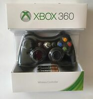 Official Microsoft Xbox 360 Wireless Controller (black) -