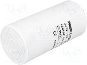 Betrieb 25uF 470VAC D45x95mm ±5/% Kondensator für Motoren 1 pcs