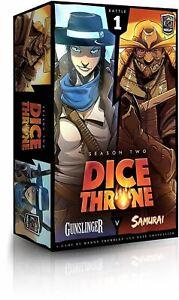Dice Throne Saison Deux Box 1 Gunslinger V Samurai 9781988884196