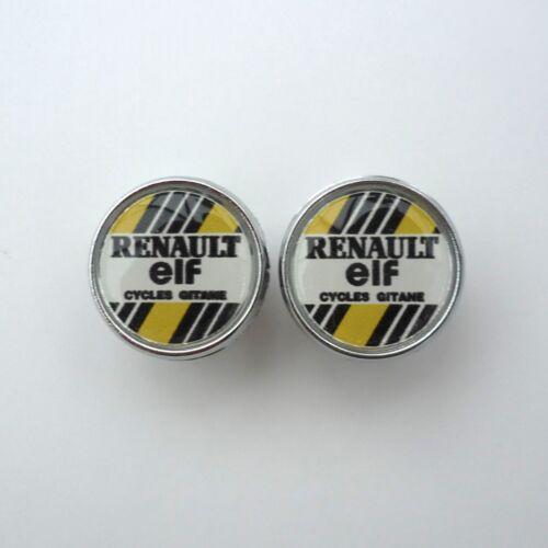 Repro Caps Vintage Style SCOTT Chrome Racing Bar Plugs