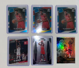 OG-Anunoby-Rookie-Card-Lot-Of-6-W-Prizm-RCAnd-Optic-Rated-Rookie
