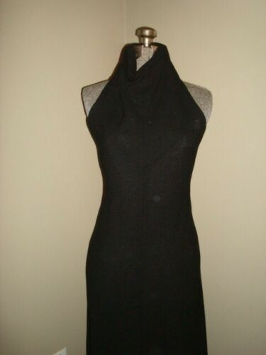 Vintage Youth Guild Black Dress from the 1970's