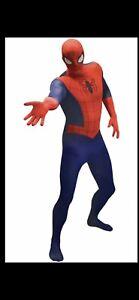 ADULT SPIDER-MAN COSTUME SIZE (M)