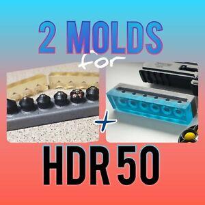 2x BallMAKER MOLD making BALLS /& SLUGS cal 50 for HDR TR 50 RAM better slugmaker