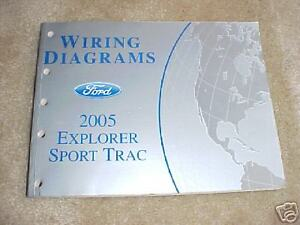 ford explorer wire diagram 2005 ford explorer sport trac wiring diagrams ebay ford explorer wiring diagram free 2005 ford explorer sport trac wiring