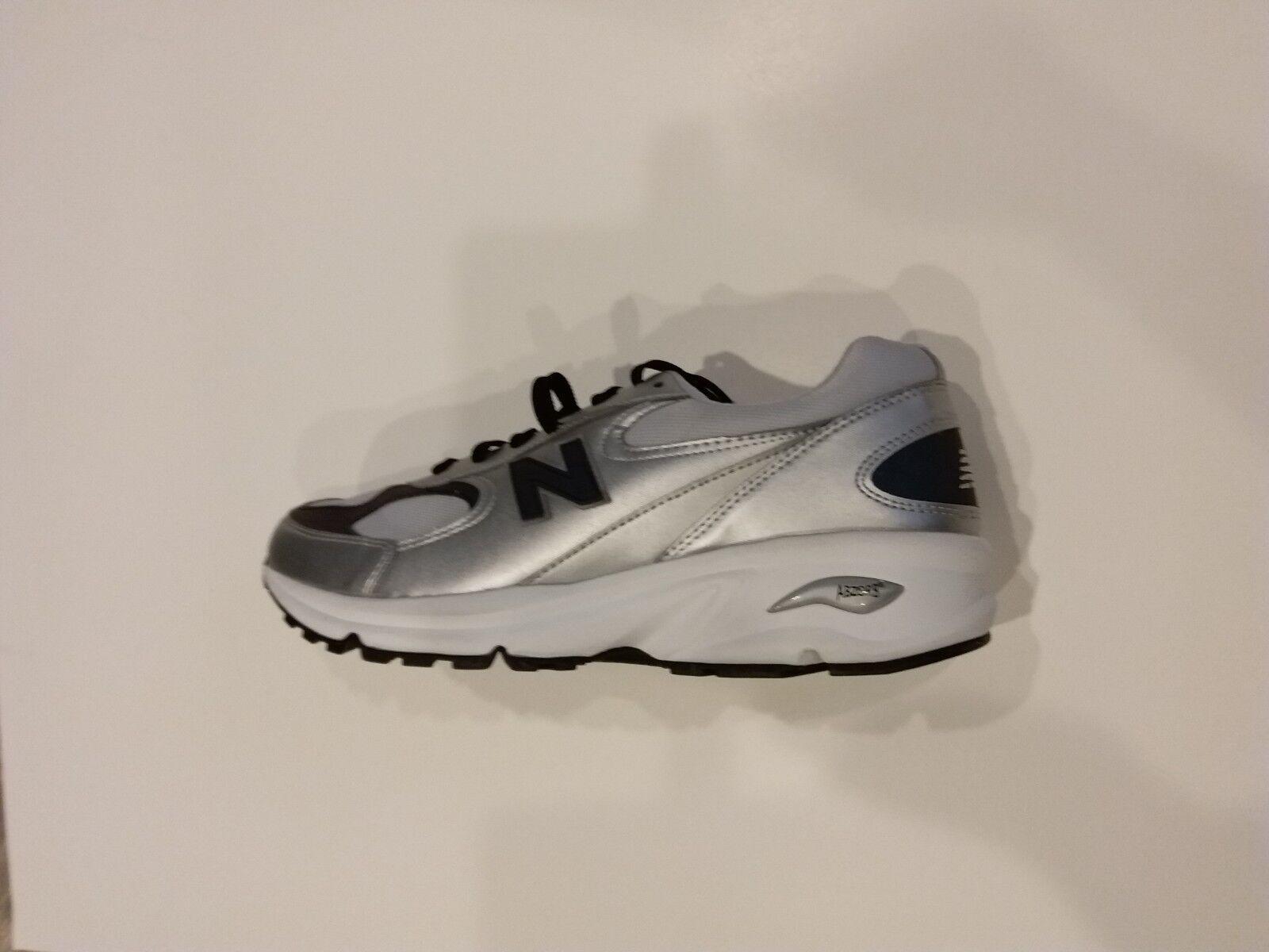 NEW walking Men New Balance ML498 SL Silver Leder running walking NEW schuhe Größe 10 D 717130