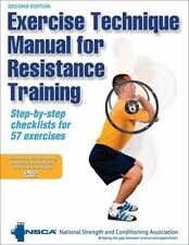 Exercise Technique Manual for Resistance Training-2nd Edition by NSCA -National