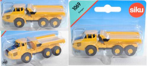 1:131 Siku Super 1069 Knickgelenkter Volvo-Dumper A40D 6x6 ca