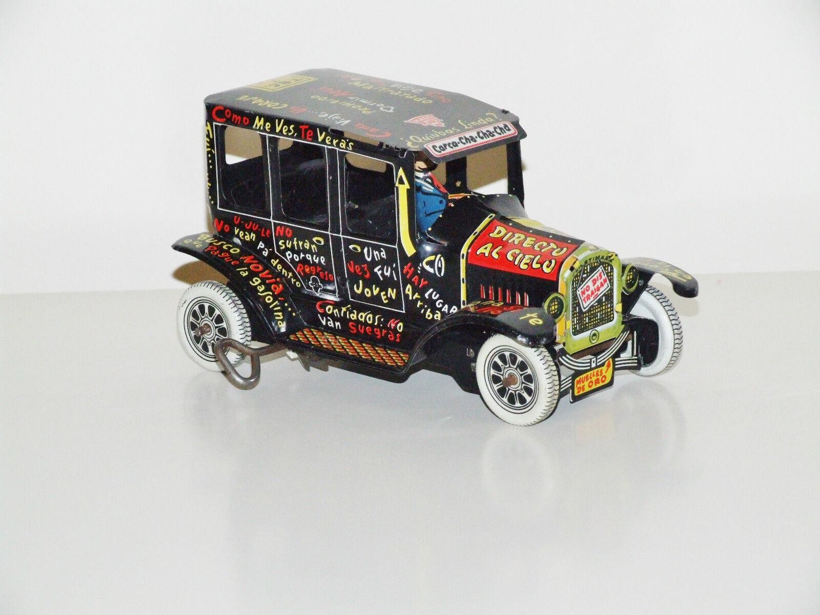 Marx PlastiMarx (Mexico) Jalopy Clockwork Car - Very Rare