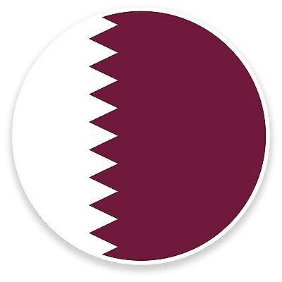 2 x 10 cm Doha City Vinyle Autocollants-Qatar Voyage Autocollant Ordinateur Portable bagages #17867