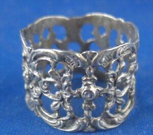 Serviettenring Hildesheimer Rose 800er Silber Antiquitäten & Kunst-Objekte aus 800er-925er-Silber