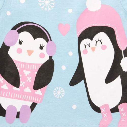 NWT The Childrens Place Penguin Christmas Holiday Pajamas Set 2t 3T 4T 5T