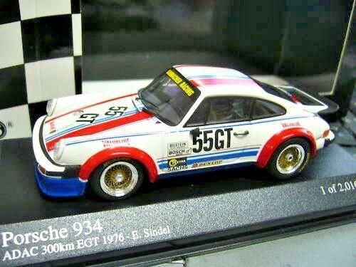 PORSCHE 911 934 Turbo DRM NURBURGRING 1976 GT #55 Bourg PMA MINICHAMPS 1:43