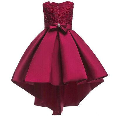 Vestidos Ropa De Moda Para Niñas Largos Vestido De Princesa De Fiesta Elegante Ebay