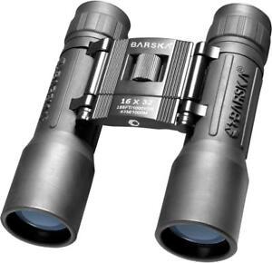 NEW-Barska-Black-Compact-Blue-Lens-Black-16x32-Lucid-View-Binoculars