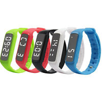 Watch Pedometer Step Walking Distance Calorie Counter Activity Fitness Tracker