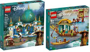 LEGO-Disney-43181-Raya-und-der-Herz-Palast-43185-Bouns-Boot-N3-21-VORVERKAUF