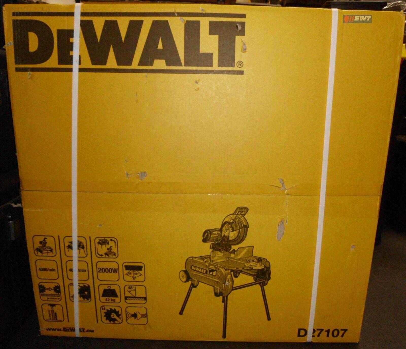 DeWALT D27107XPS 305 mm Tisch-, Kapp- und Gehrungssäge D 27107 XPS