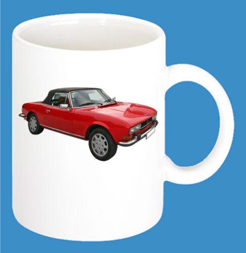 Peugeot Car Models Coffee Cup Car 300ml Ceramic Mug with Print