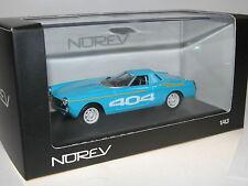 Norev 474442, Peugeot 404 Diesel des Records, 1965, blau, 1/43, OVP