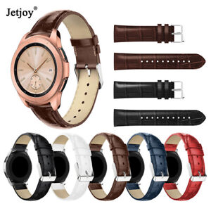 20-22mm-Genuine-Leather-Band-Strap-For-Samsung-Galaxy-Watch-42-46mm-Gear-S3-S2