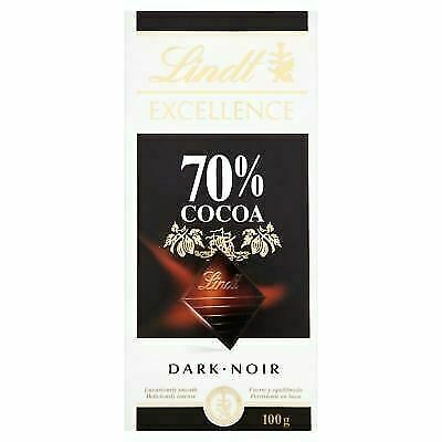 Lindt Excellence Dark Chocolate 70 Cocoa 100g For Sale Online Ebay