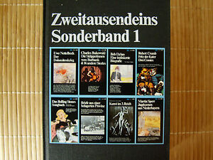 Zweitausendeins Sonderband 1,1982 - <span itemprop=availableAtOrFrom>Fichtenberg, Deutschland</span> - Zweitausendeins Sonderband 1,1982 - Fichtenberg, Deutschland