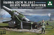 Takom 1:35 Skoda 42cm M.1917 Heavy Siege Howitzer Plastic Model 2018