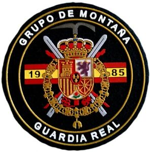 PARCHE-GUARDIA-REAL-JUAN-CARLOS-I-GRUPO-DE-MONTANA-REAL-GUARD-KING-SPAIN-EB01136
