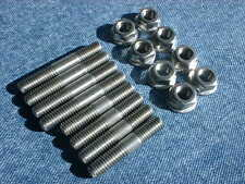 Yamaha Vmx1200 V-max '96 - '03 Stainless Steel Exhaust Stud Set