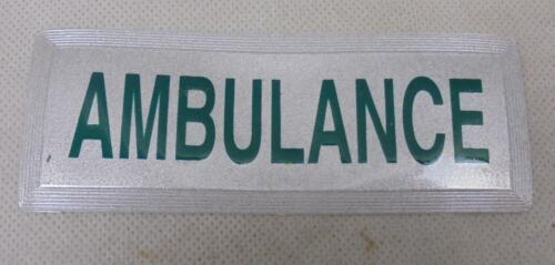 Obsolete Emergency Services//Fire//Medical//Ambulance High Viz Clothing Badge SMALL
