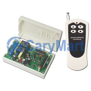 Image Is Loading AC 110V Motor Wireless Switch 500M RF Remote