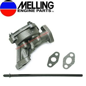 Melling Stock Oil Pump /& Shaft compatible with FE Ford 330 332 352 360 390 410 427 428 462