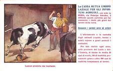 C3510) LA CASSA MUTUA UMBRO LAZIALE PER GLI INFORTUNATI AGRICOLI.