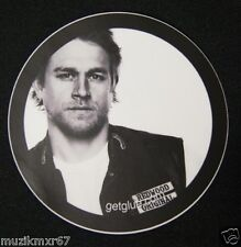 SDCC Comic Con 2012 EXCL Sons of Anarchy JAX TELLER Decal Sticker Charlie Hunnam
