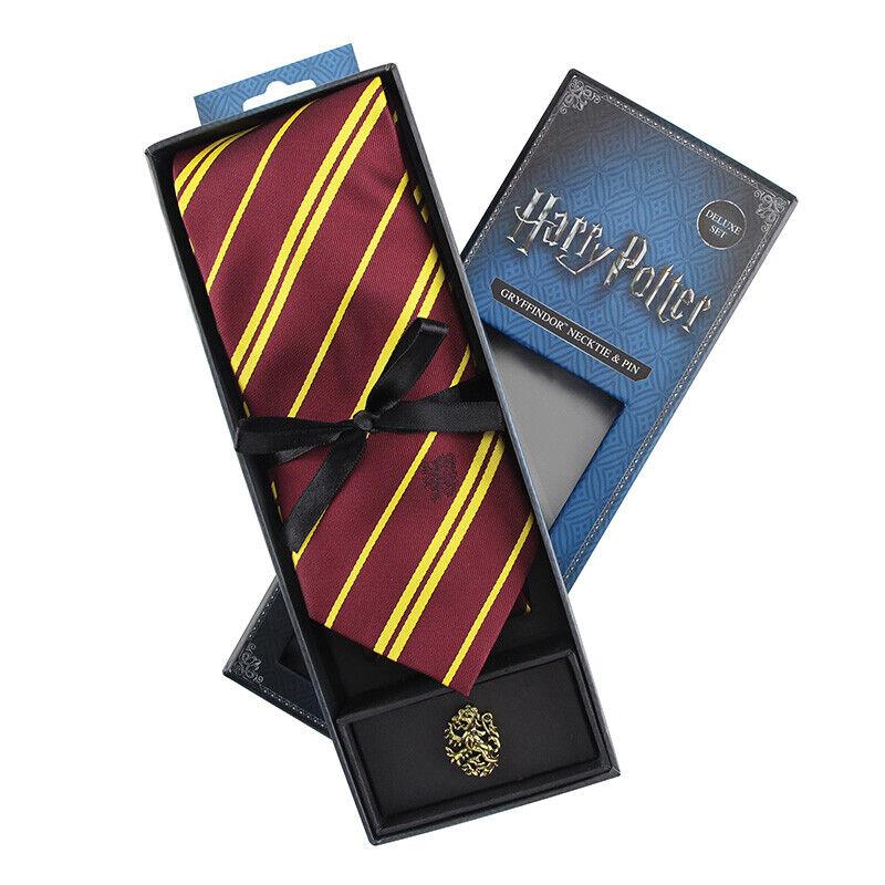 Harry Potter Griffindor Kids Necktie Deluxe Set