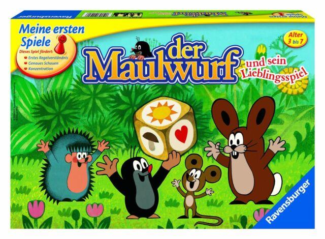Ravensburger 21570 Der Maulwurf und sein Lieblingsspiel   NEU OVP,
