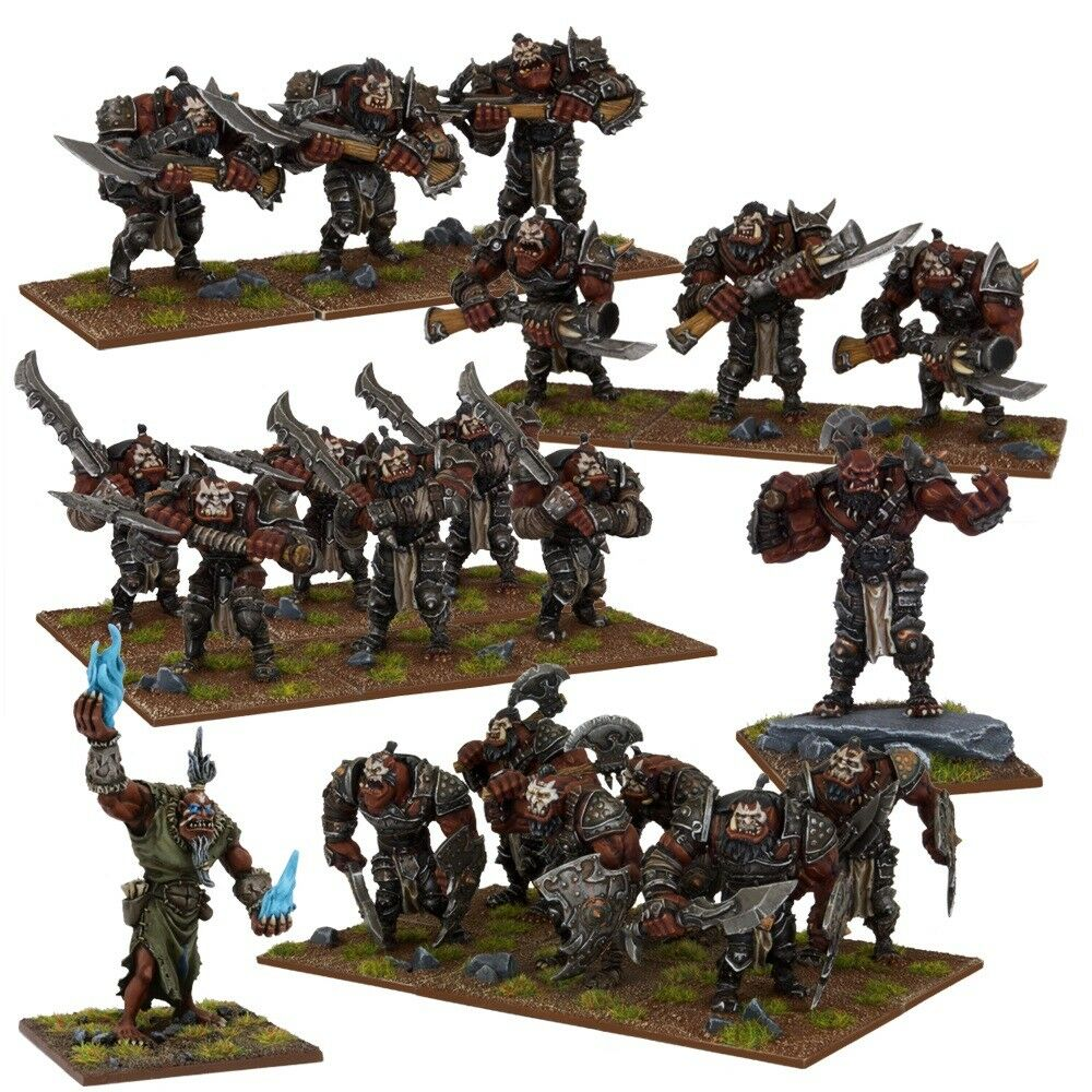 Ogre Army Box Set - Kings of War - 20x Miniatures