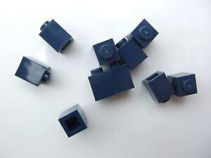 10 x Lego Black  round brick Parts /& Pieces size 1x1 - 306226