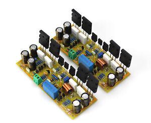 Ein-Paar-assembeld-Classic-symasym-5-3-Discrete-Power-Amplifier-Board-1943-5200