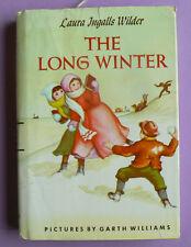 The Long Winter by Laura Ingalls Wilder,pics by Garth Williams HC w/DJ 1953
