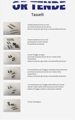 Produzione in Italia Tenda Tende alla Veneziana da 25 mm no Kit Cinesi